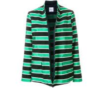 striped oversized blazer