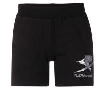 Shorts mit Logo-Print