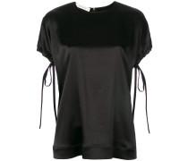 T-Shirt mit Schleifenverschlüssen