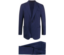 fitted two-piece suit