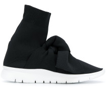 hi-top bow sneakers - Unavailable