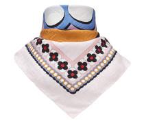 logo square scarf
