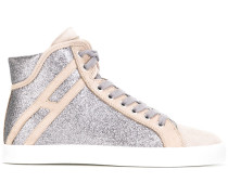 Glitzernde High-Top-Sneakers - women