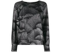 Langarmshirt im Metallic-Look