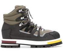Hiking-Boots in Colour-Block-Optik