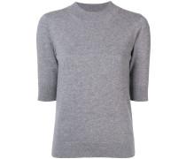 Kaschmir-Pullover mit Dreiviertelärmel