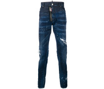 Schmale 'Cool Guy' Distressed-Jeans