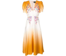 Kleid mit Batikmuster