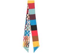 Schmaler Schal mit Print