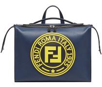 'Lui' Aktentasche mit Logo-Patch