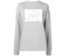 Sweatshirt mit Zeichnung
