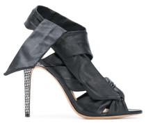 Maleah ankle-wrap sandals