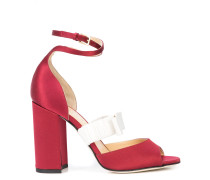 Zuzu contrast strap sandals