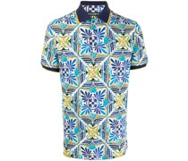 "Poloshirt mit ""Maiolica""-Print"