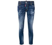 'Runway' Cropped-Skinny-Jeans