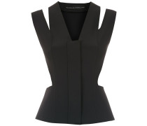 Top mit Cut-Outs