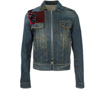 - Jeansjacke mit Patches - men - Baumwolle - 52