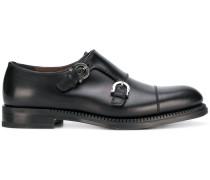 Derby-Schuhe mit Gancio-Detail