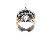 'White Eclipse Memento' Ring