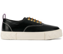 flatform lace-up sneakers