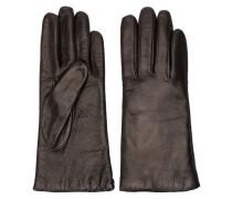 P.A.R.O.S.H. Handschuhe mit Knitteroptik