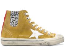 High-Top-Sneakers mit Stern