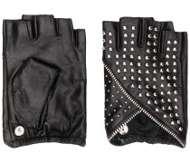 Fingerlose 'K/Studded' Handschuhe