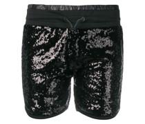Paillettenbesetzte Shorts