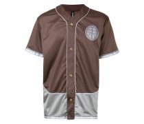 Baseball-T-Shirt mit Patch