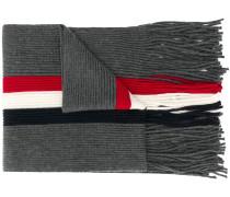 Schal mit Kontraststreifen