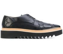 Derby-Schuhe mit Flatform-Sohle