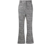 Ausgestellte Tweed-Hose