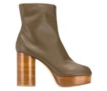 Tabi platform boots