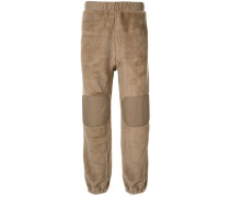 Hose mit Faux Shearling