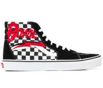 'Bowie' Sneakers mit Schachbrettmuster