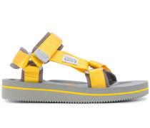 Sandalen mit Kontrastriemen
