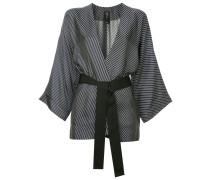 Blazer im Kimono-Look