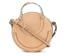 rounded Pixie bag with metal handle