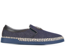 Slip-On-Sneakers im Jeans-Look