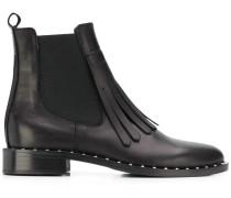 Chelsea-Boots mit Fransen