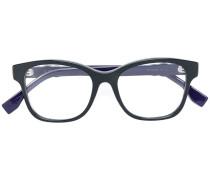Brille mit quadratischem Gestell