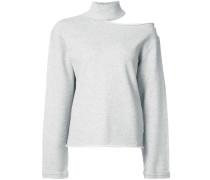 Sweatshirt mit Cut-Out-Detail