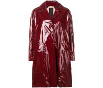 Mantel mit Lackoptik