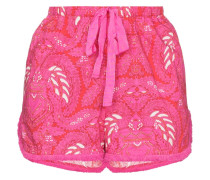 'Pascal' Shorts mit Spitzen-Print