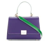 Kleine Handtasche in Colour-Block-Optik