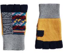 Handschuhe im Patchwork-Design