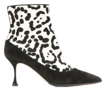cheetah printed boots