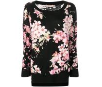 Pullover mit Blütenmuster