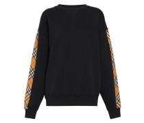 Sweatshirt mit Vintage-Check