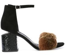 Abby fur sandals